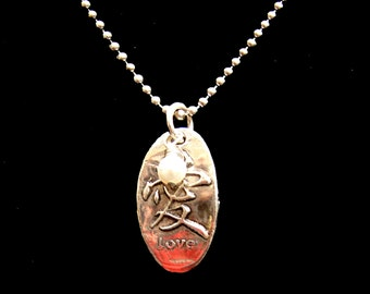 China Love necklace-Reversible Pendant- Fundraiser for Orphans with HIV / AIDS in China