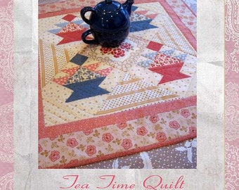Tea Time Quilt Pattern