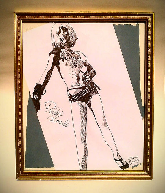 Dame Darcy, Illustration, punk, Blondie, comics, Debbie Harry, With a Gun