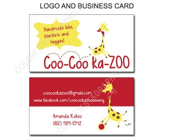 BUDGET custom logo design and business card design - plus one round of UNLIMITED edits