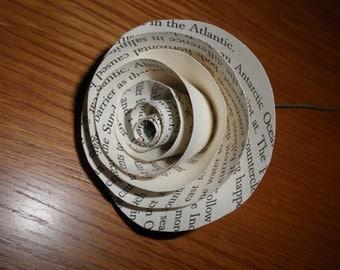24 Book paper roses