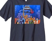 classic He-Man Orca Gang Group t-shirt or onesie