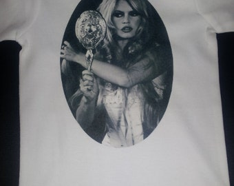 Brigitte Bardot vintage pin up onesie or  t-shirt