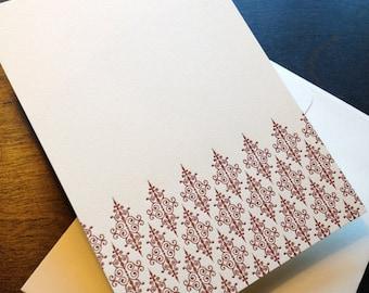 Letterpress Ironwork Imprintables