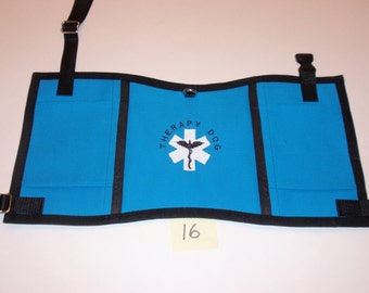 Therapy Dog Vest--Fits dog 20 to 30 lbs