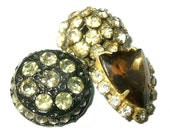 Antique Rhinestone Button...