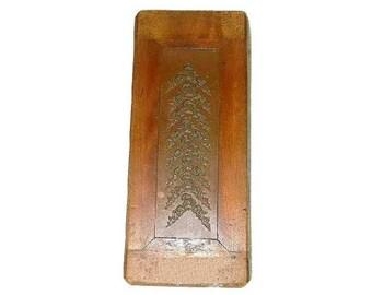 Antique Copper Mold Art Master Galleries Book End Door Stop