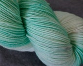 Hand Dyed Sock Yarn - SW Merino/Nylon - 463 yards - Minty DISCOUNTED