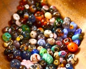 Mixed Lot of Glass Beads CLEARANCE