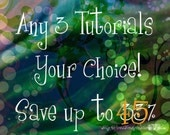 Any 3 Wire Jewelry Tutorials - Your Choice - Save Up To 45% - Instant Digital Download - Electronic PDF Files