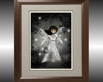 Fantasy Art Fairy Art Print - 8x10 - Fairy Lace