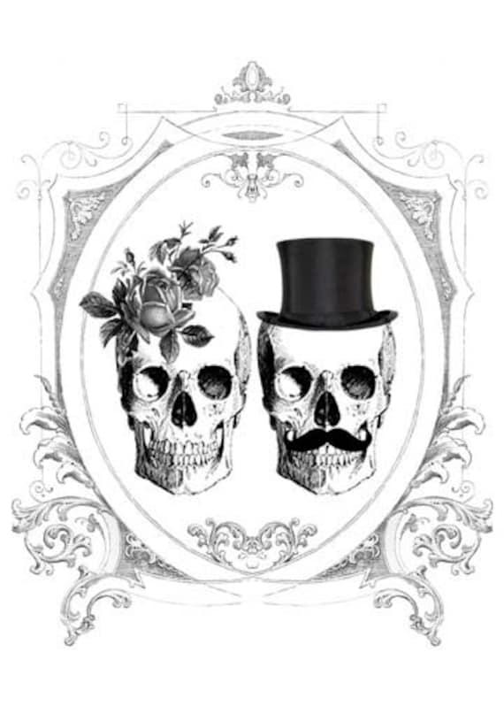 Bianca printable diy wedding invitation suite black and for Free printable gothic wedding invitations