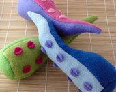 Squeaky Squid Tentacle Dog Toy