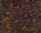 Fat Quarter Hoffman Batik Hand Painted Bali Batik F2012-128 Midnight Quilting Sewing Batiks