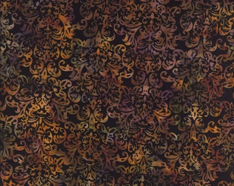 Fat Quarter Hoffman Batik Hand Painted Bali Batik F2012-128 Midnight Quilting Sewing Batiks