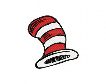 Dr Seuss Collection Applique and Embroidery Machine Patterns Set of 12
