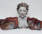 Buddha Bust - She Stands With Open Arms