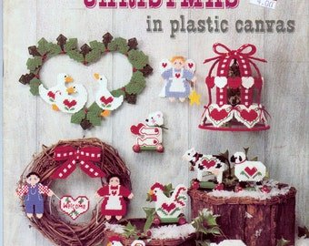 Plastic Canvas Patterns Country Christmas in Plastic Canvas