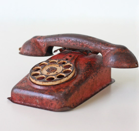 Vintage Toy Phone 112