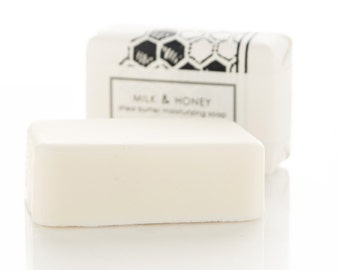 SALE - Milk & Honey Shea Butter Soap Bar