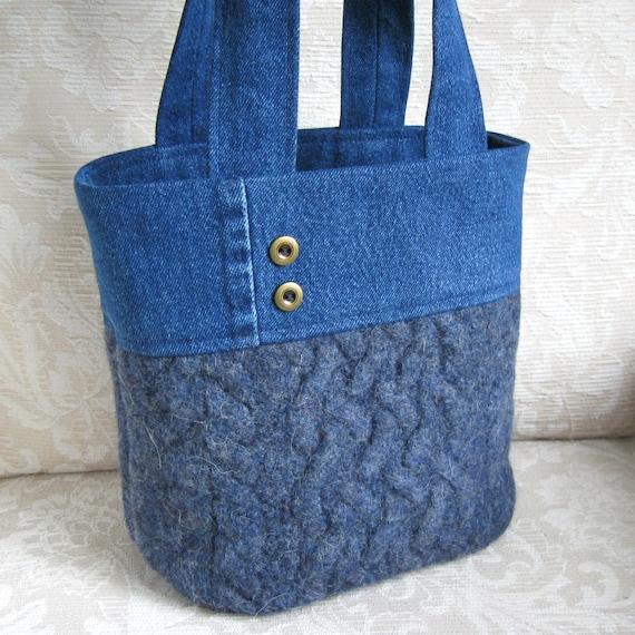 Denim Craft Tote Bags