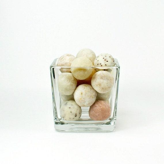 Decorative Soap, Balls of Soap, Bathroom Decor, Soap Balls for Kitchen Decor ~~ Decorative Soap Balls in Neutral Colors