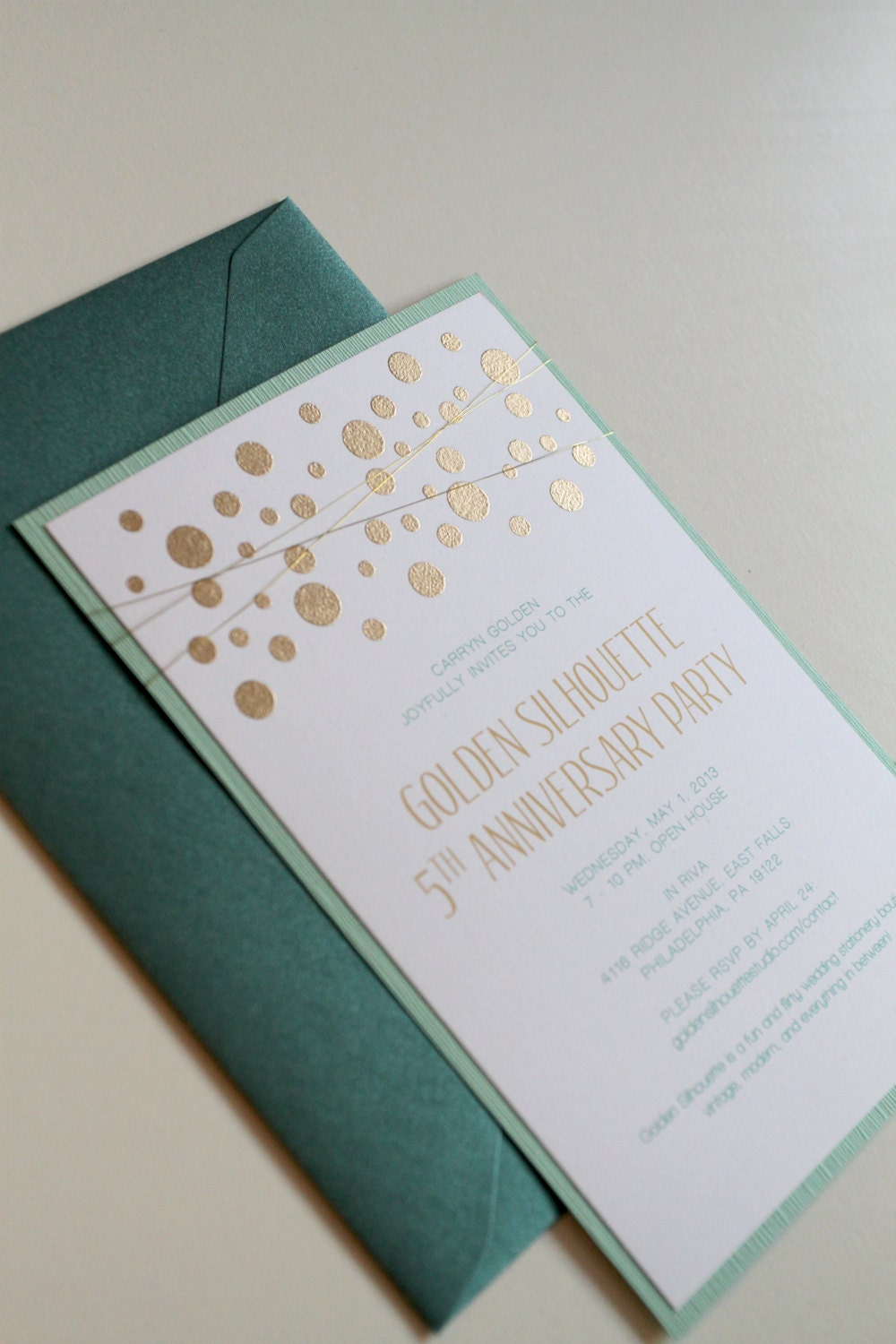 Mint And Gold Wedding Invitations for your inspiration to make invitation template look beautiful