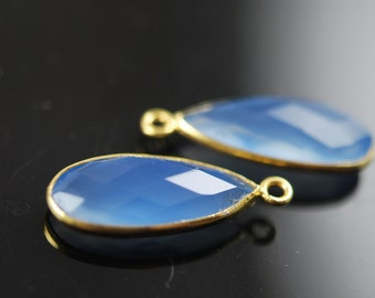 Light blue long drop pendants 2 pieces for 20.00
