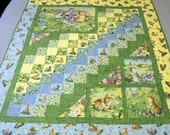 Bunnies Day Out Baby or Toddler Quilt