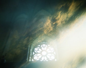 HALF PRICE SALE - Dreams of Elysium - 5x5 original film art photograph. Dreamy, spiritual, mystic photography