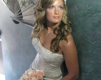 Lavender Bridal Jewelry Custom Made For Your Wedding or Bridal Party