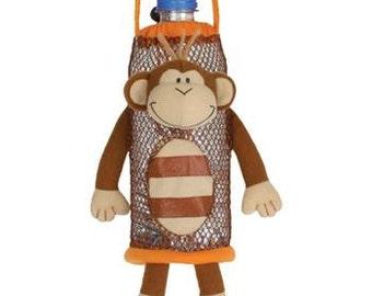 Personalized Stephen Joseph Monkey Bottle Buddie
