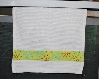 Hanging kitchen bar mop towel set