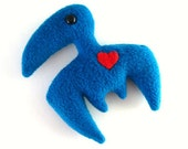 The Pterodactyl - Winged Dinosaur Plush by PterodactylPants