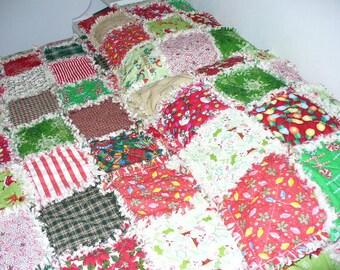 Custom Made by Ashlawnfarms, 1 Standard Size Pillow Sham, Rag Quilt Pillow Sham, Made to Order