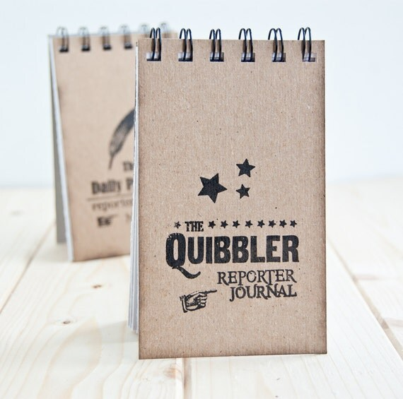 The Quibbler Reporter - spiralbound journal
