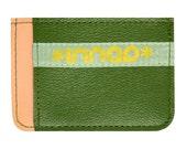 Peach Grass Seafoam Ultra Slim Wallet