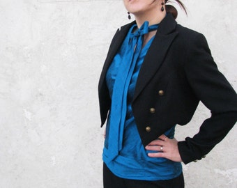 Tuxedo Blouse for the Ladies---Custom Made to Fit You