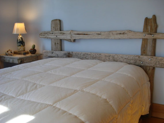 Items Similar To Driftwood Headboard Made For King Queen