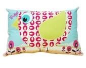 Girly Bird Cushion