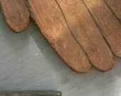Helping HAND Thread Winder/holder - hand milled here at Notforgotten Farm