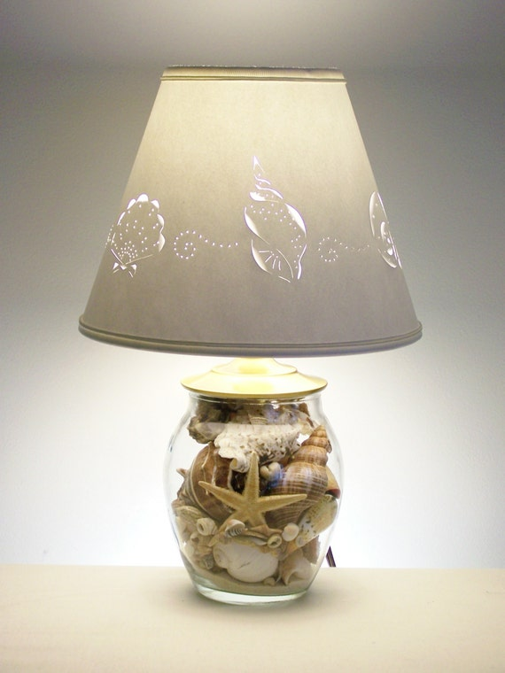 Small Seashell Lamp