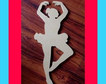 Ballerina Unfinished Mosaic Base