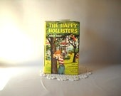 Vintage Book Happy Hollisters Book 1953 Jerry West Children's Books Adventure Story  Mystery