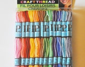 Craft Thread, New in Box, 36 Skeins of DMC Prism Variegated Craft Floss, Non-Divisible and Fray Resistant, Great for Craft Projects