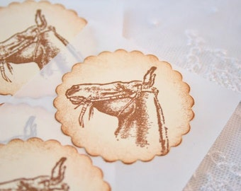 Horse Stickers Envelope Seals
