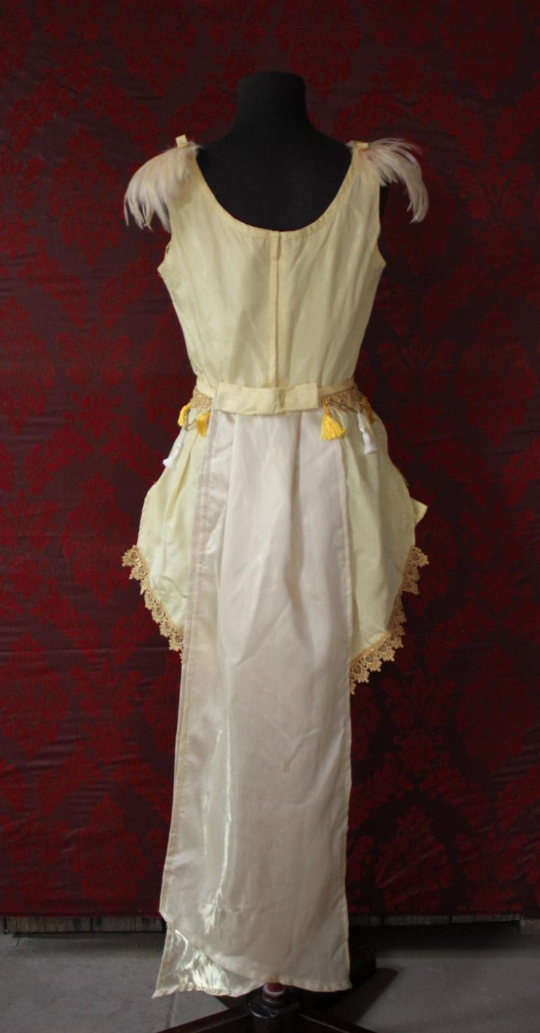 The Canary Vintage Trapeze Circus Girl Costume Size 6