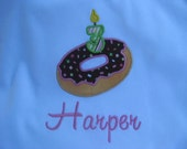 Donuts birthday party shirt