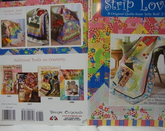 Strip Lovers Quilt book - CLEARANCE