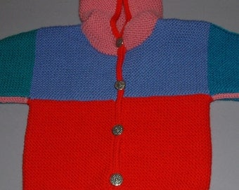 Crayon Colors Baby Jacket